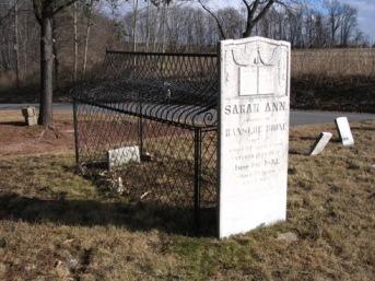 Grave of Sarah Ann
