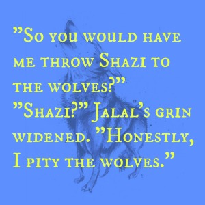 Shazi to the wolves