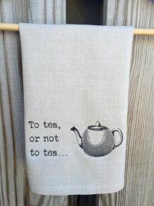 to tea