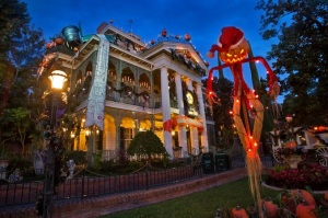 halloween time haunted mansion